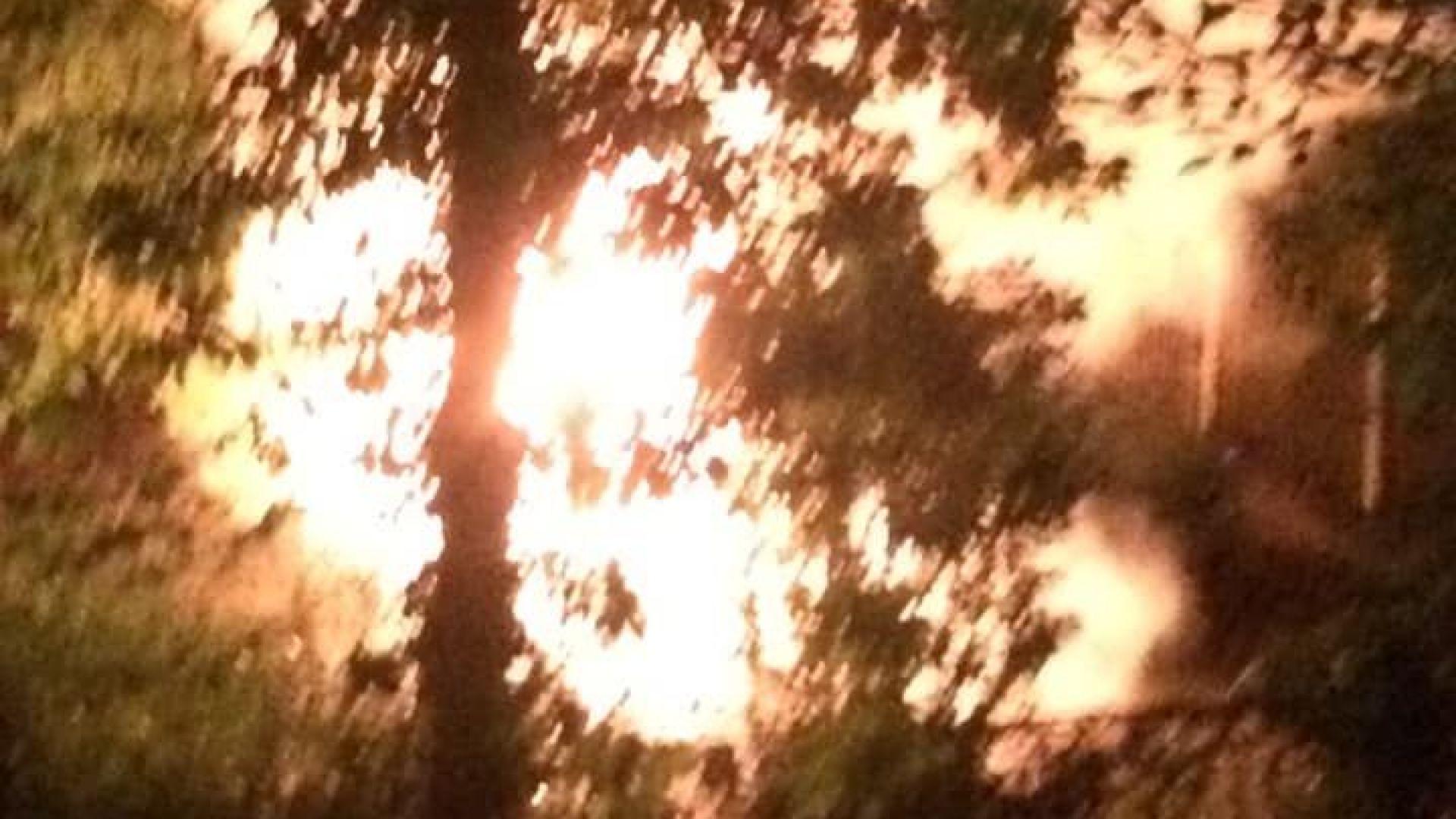 Изгоря колата на известния скулптор проф. Велислав Минеков