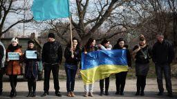 Руската полиция арестува десетки кримски татари при рядък протест
