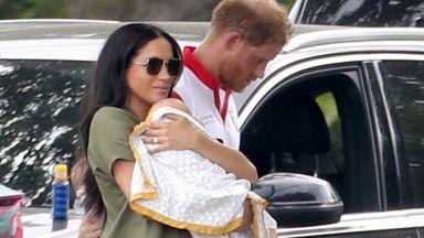 Хари и Меган отведоха сина си Арчи в Южна Африка (видео)