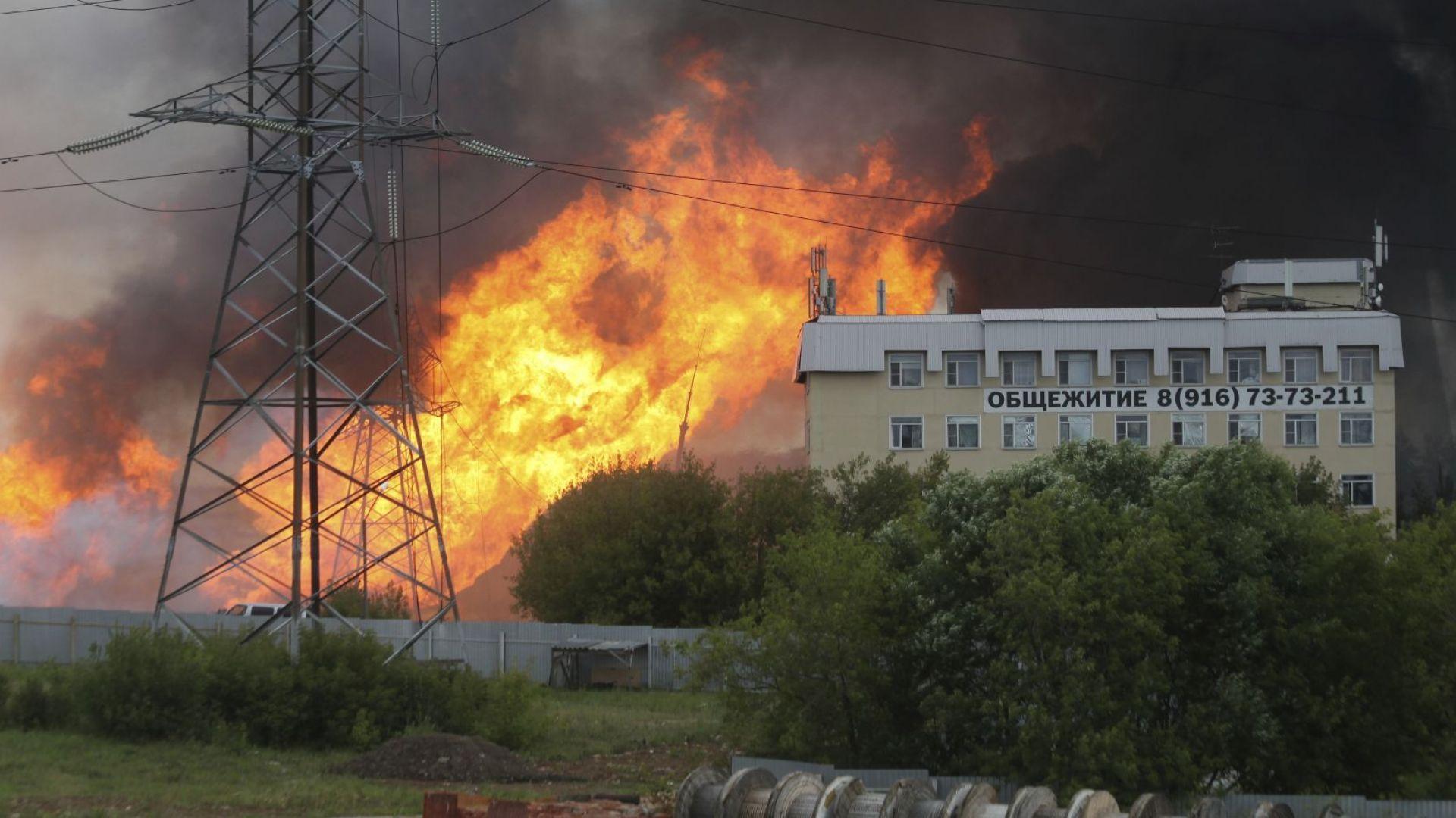 Една загинала и 13 ранени при пожара в руската ТЕЦ (видео)