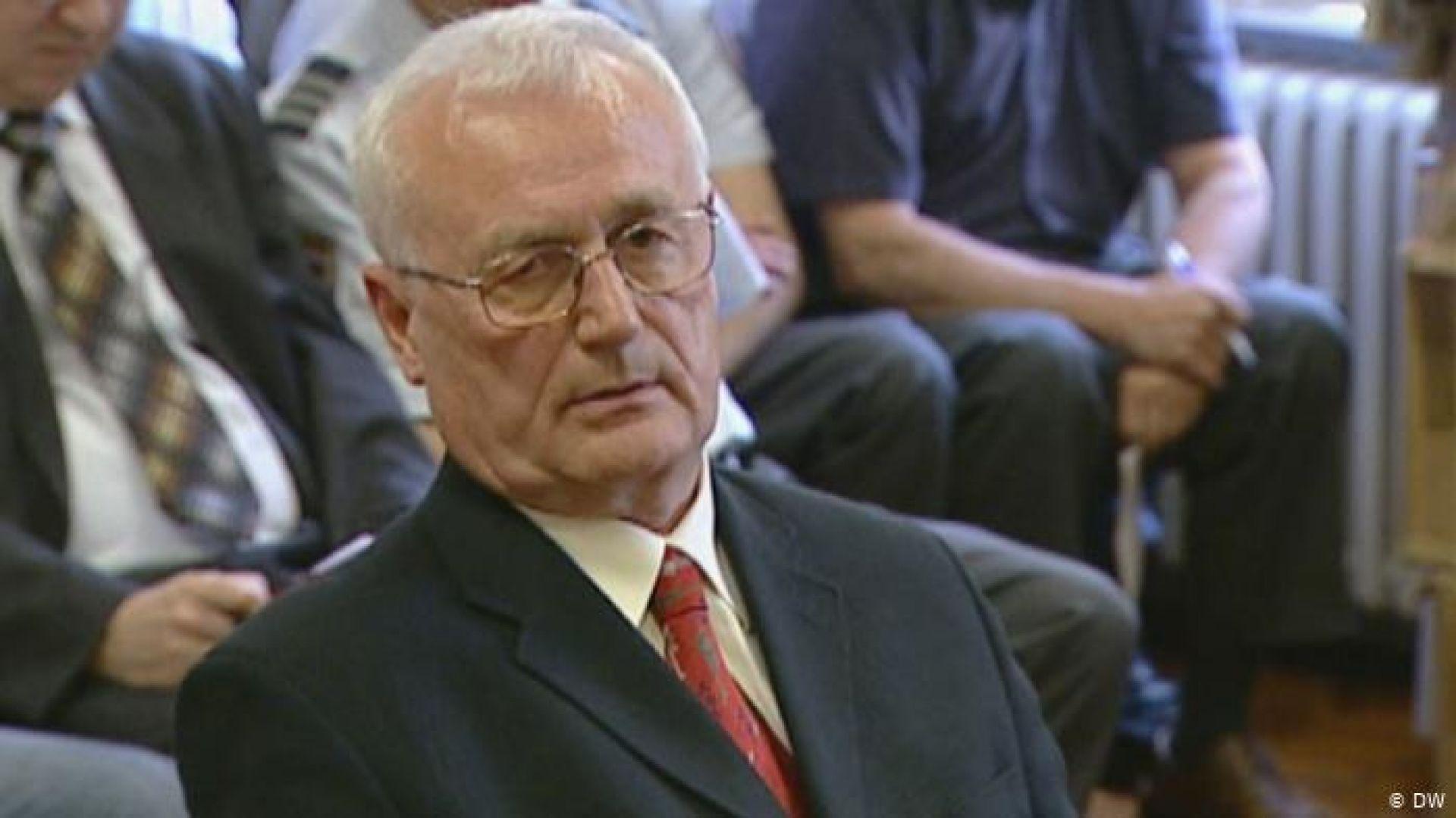 Осъден югославски разузнавач бе предаден от Германия на хърватските власти
