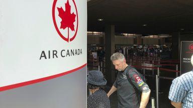 37 ранени при турбуленция в самолет на Air Canada (видео)