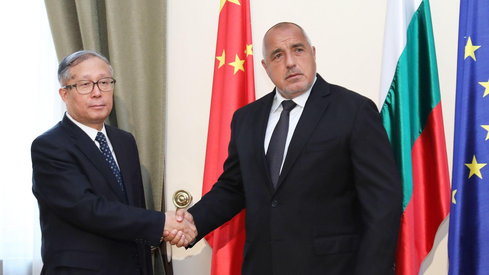 Китайският вицепремиер Ли Хунджон: България се развива с бързи темпове