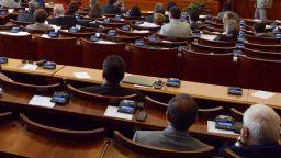 Остър сблъсък в парламента заради състава на КРС, едва не се стигна до бой