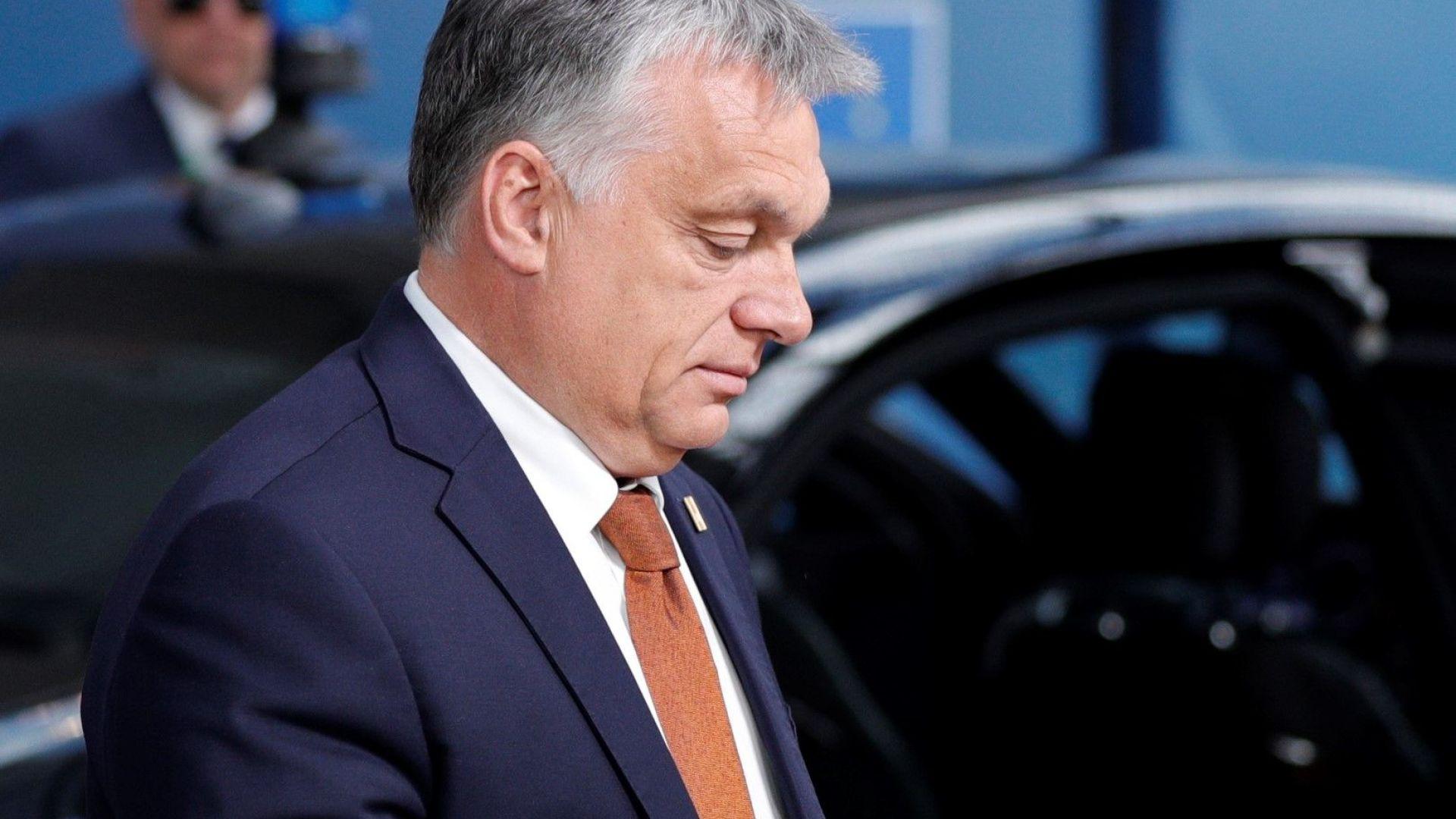 Премиерът на Унгария Виктор Орбан, който е твърд противник на