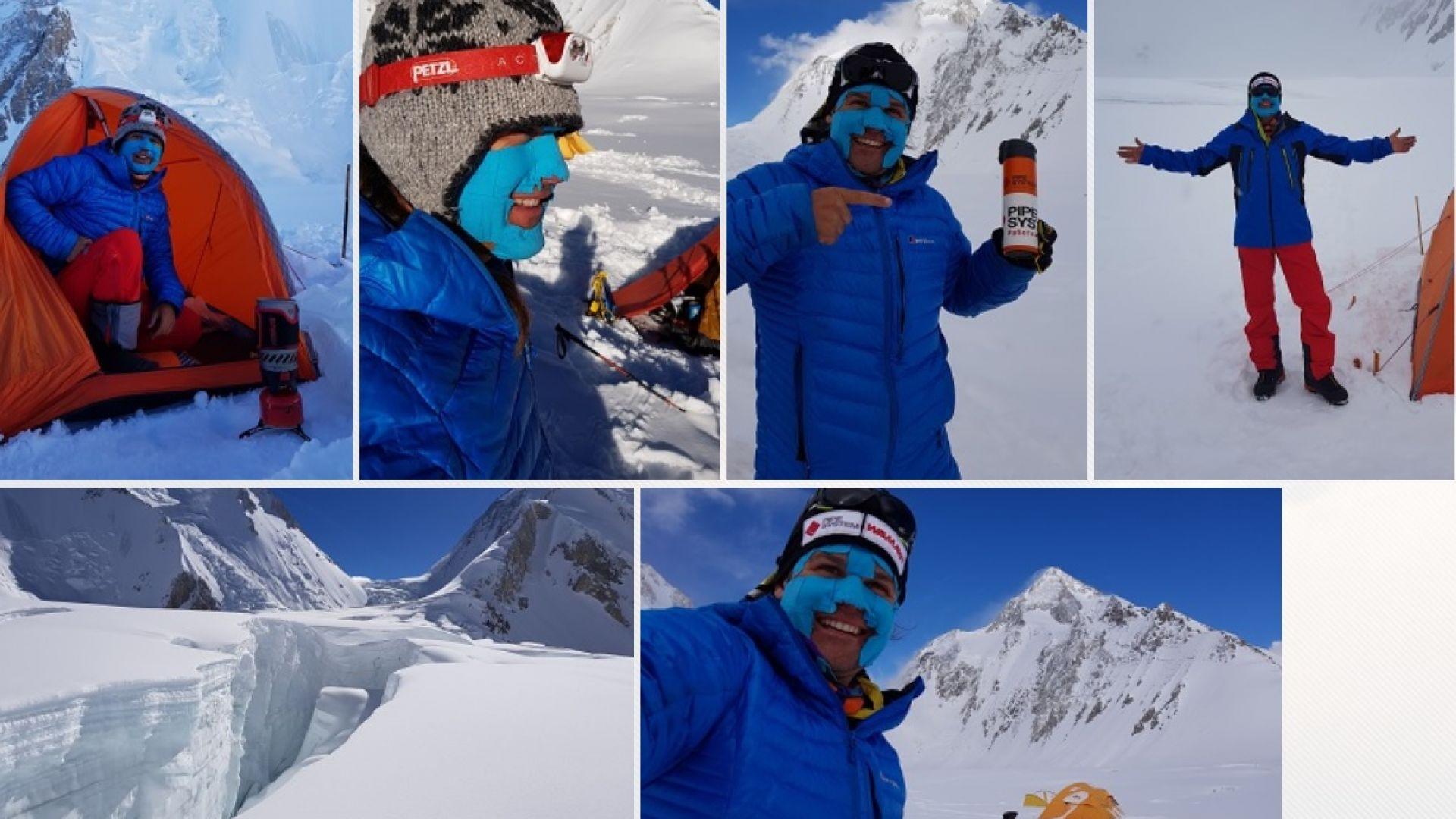 Алпинистът Скатов за изкачването на Гашербрум: Губихме посоката, падна мъгла, изви се буря