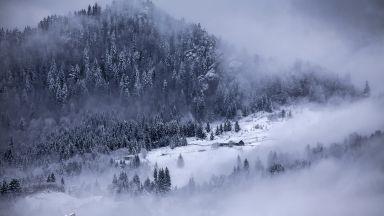 Сняг и температури под нулата в Румъния (видео)
