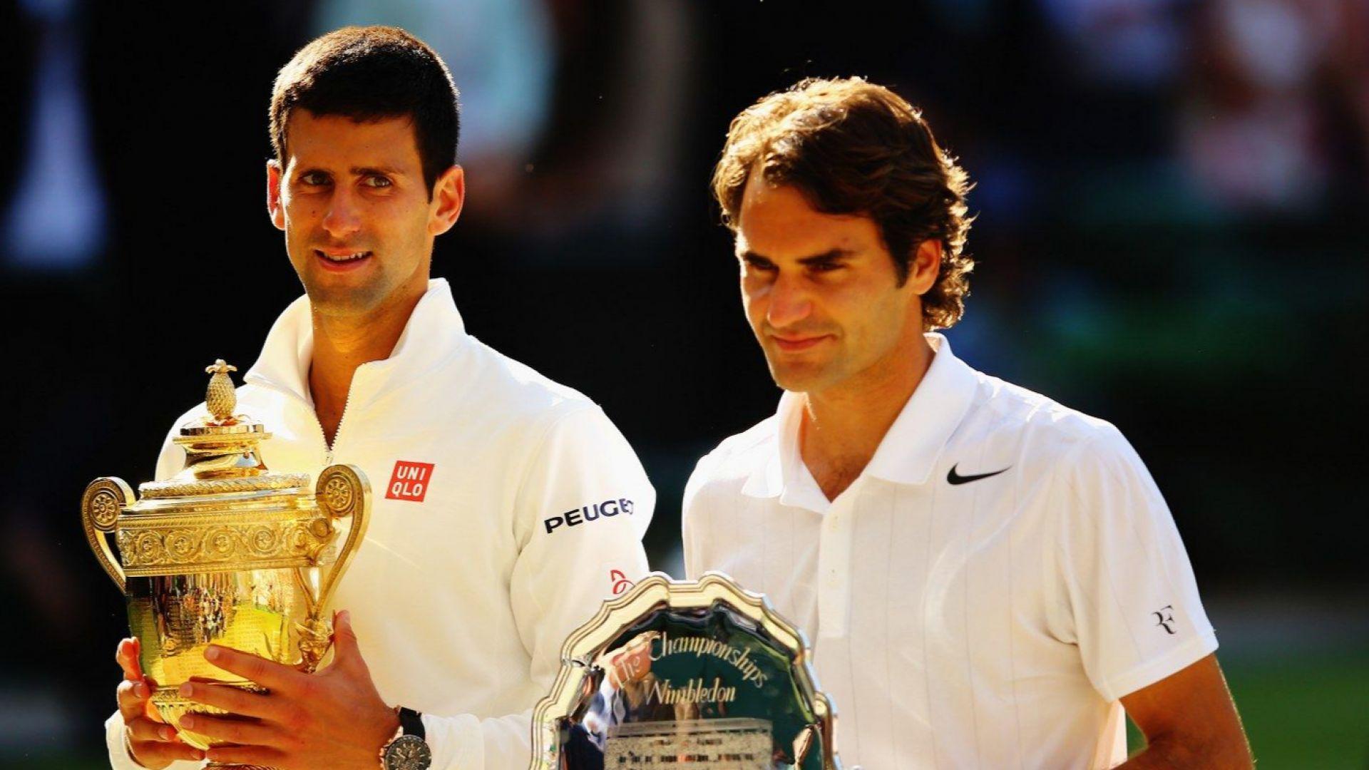 Федерер срещу Джокович и историята в огромен мач на свещената трева