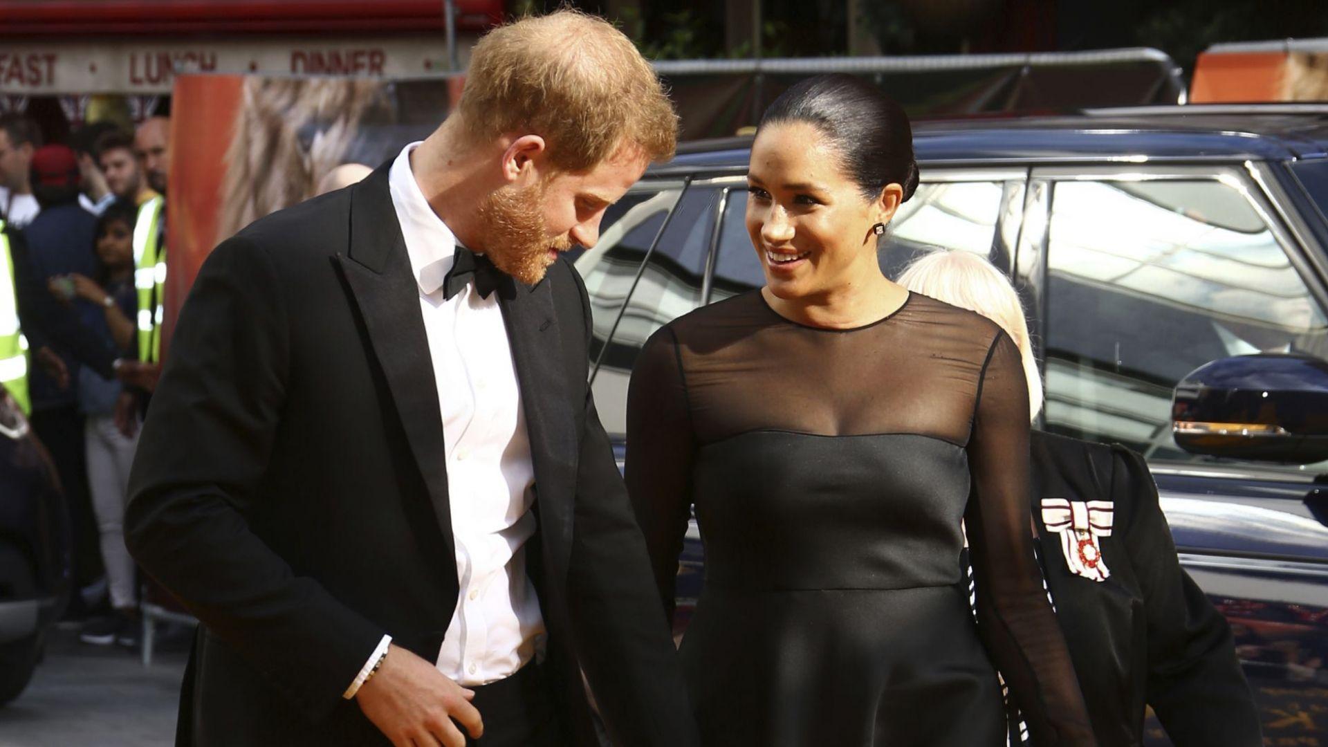 Меган за първи път на червения килим, откакто е херцогиня