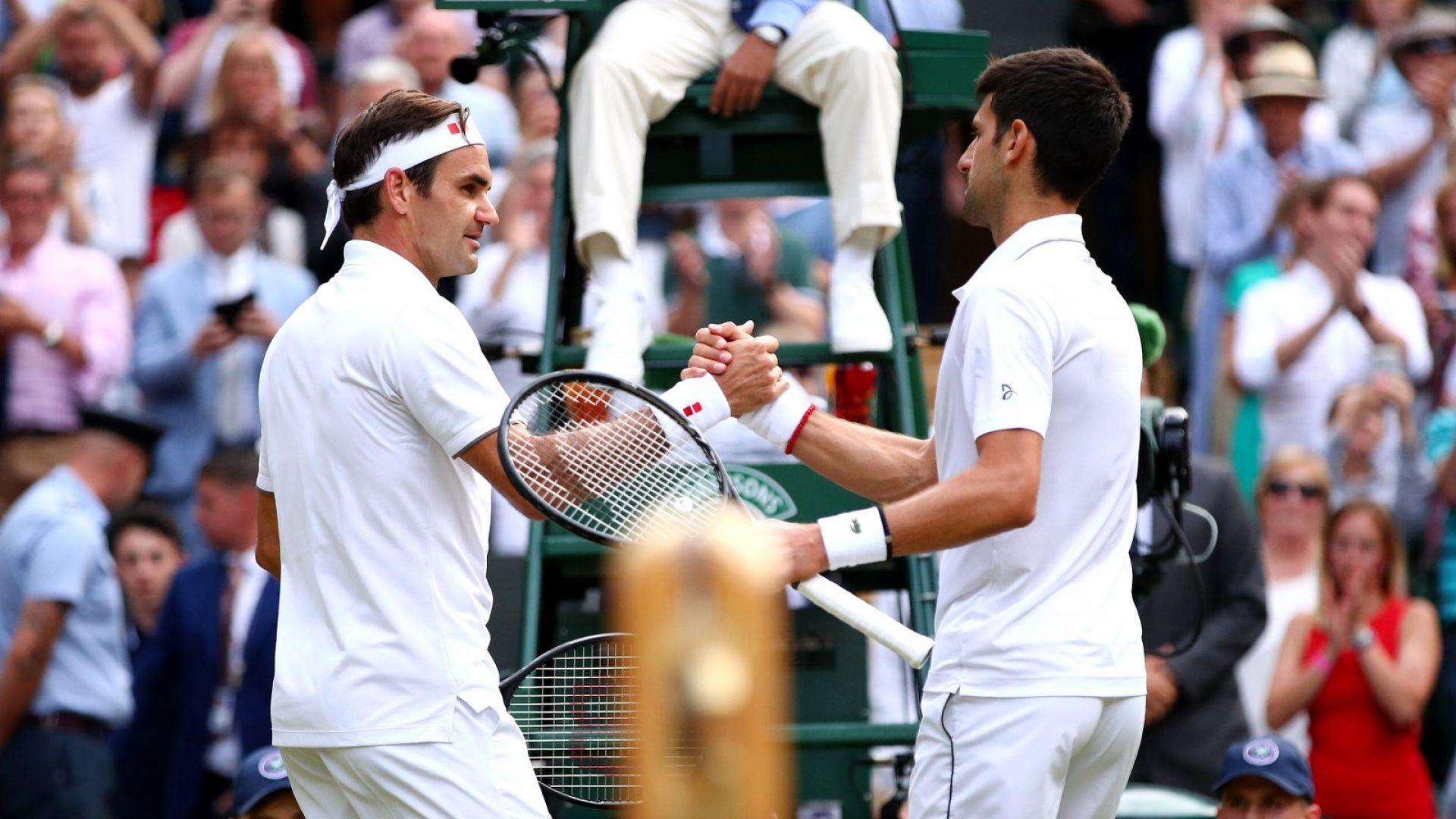 Джокович срещу Федерер още в групата на Финалите в Лондон (жребий)