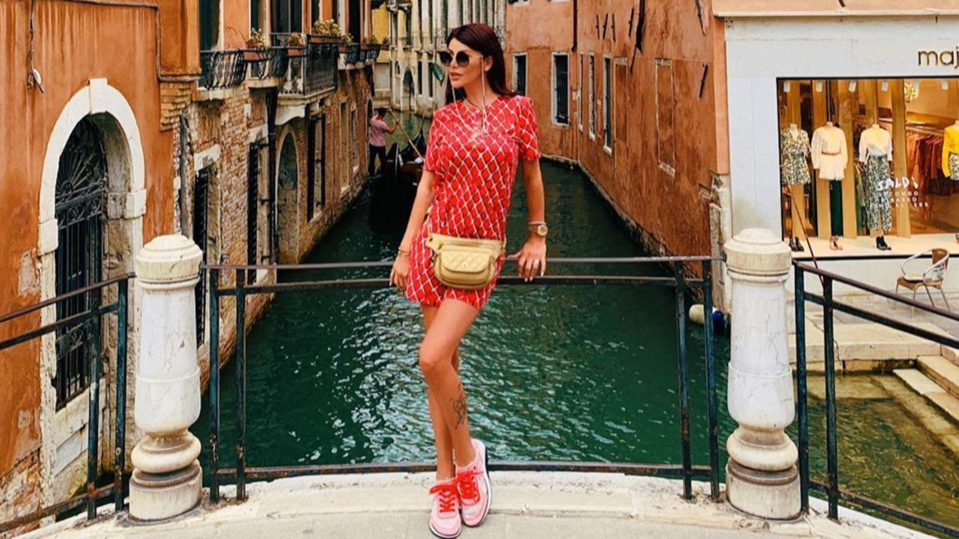 Гущерови на почивка във Венеция