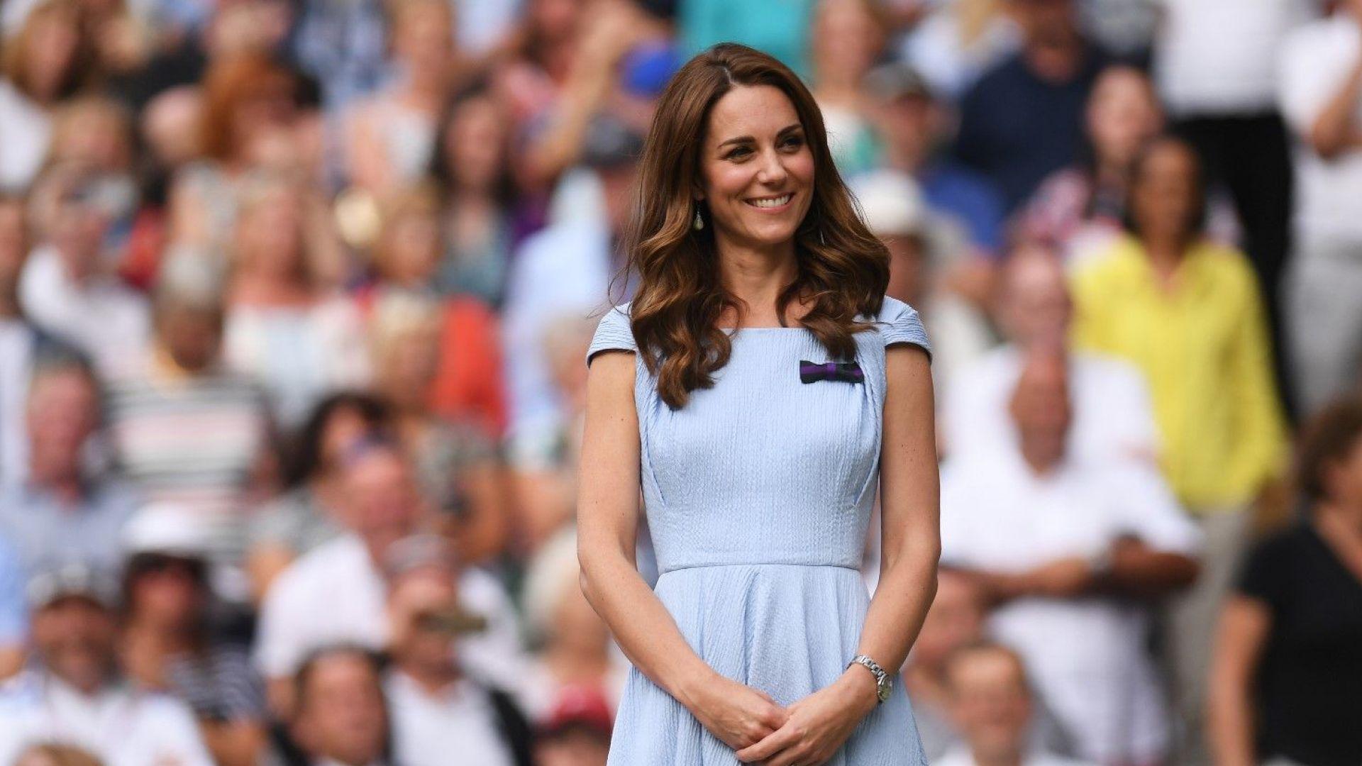 Кейт получи неочакван подарък от бившия тенис шампион Стан Смит
