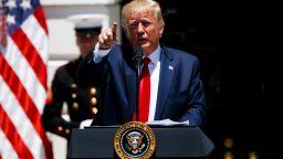 И Тръмп обвини Иран в лъжа за арестуваните ЦРУ шпиони