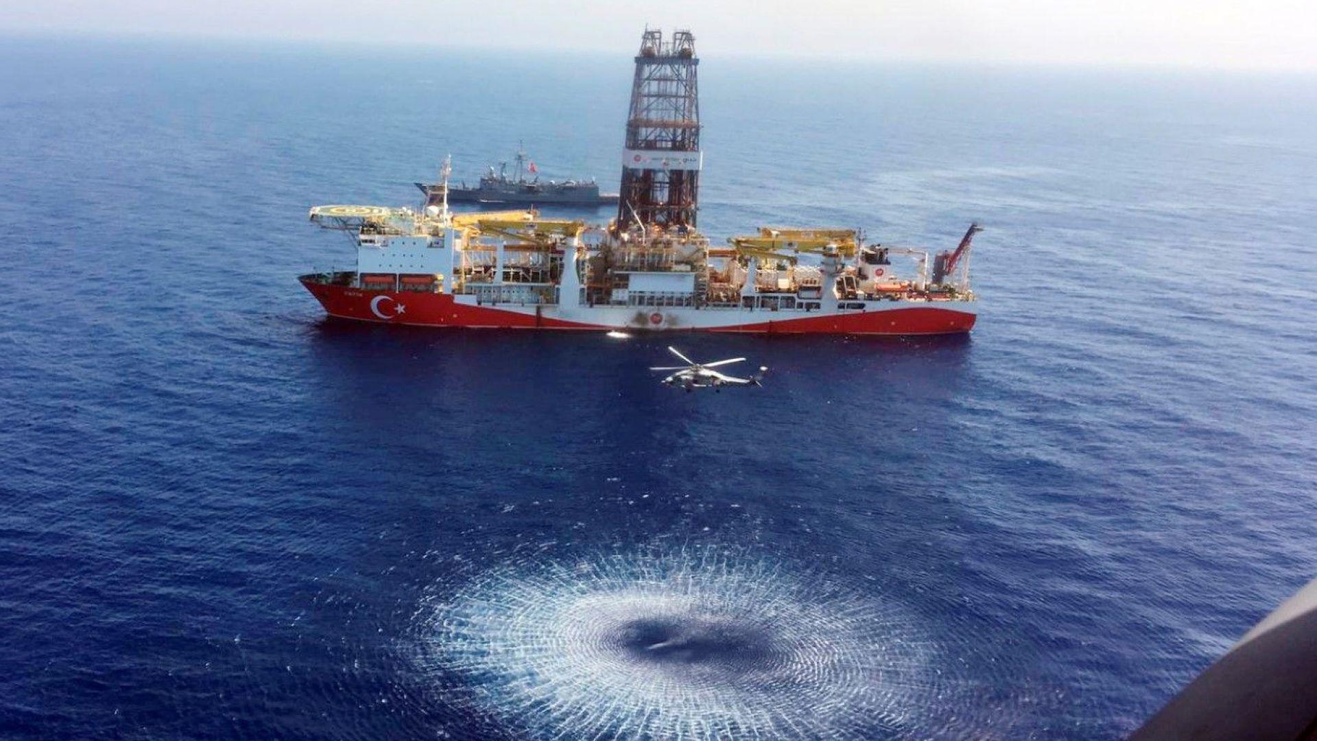 Кипър привлича чужди инвеститори за проучване за газ