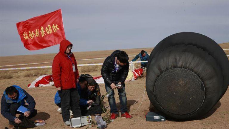 Китай разработва връщащи се спътници