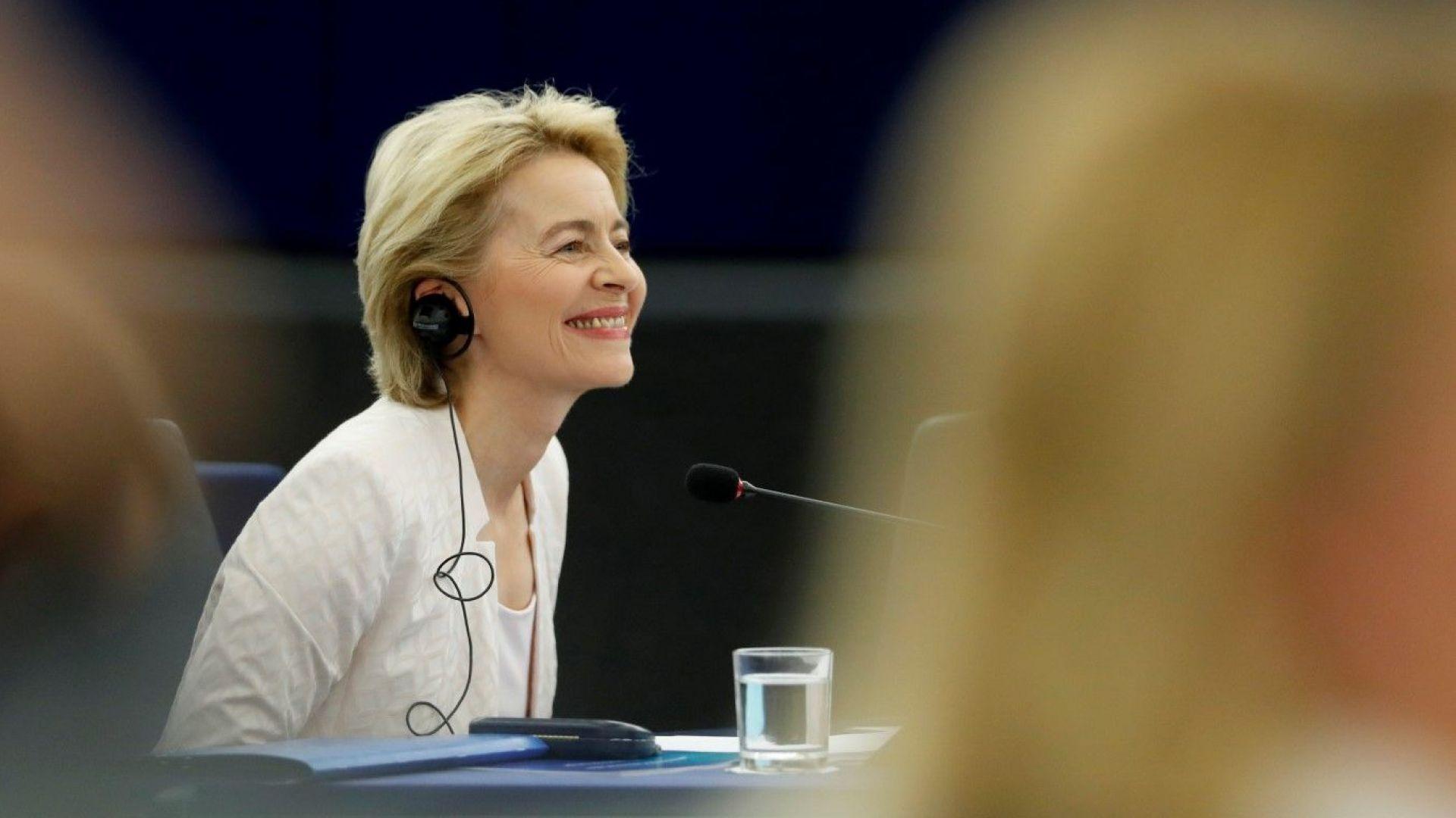 Предложената за следващ председател на Европейската комисия Урсула фон дер