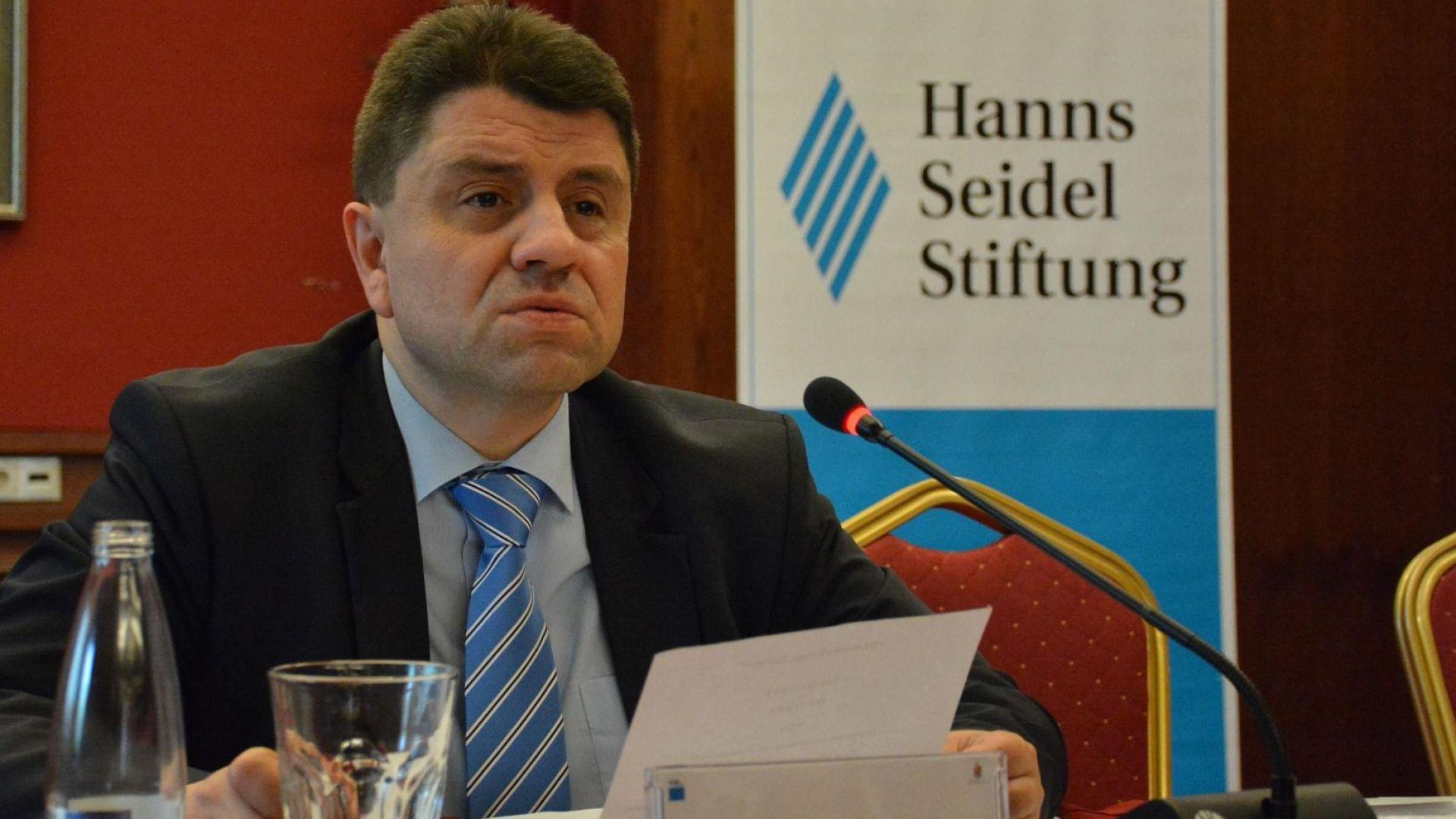 Зам.-министърът на вътрешните работи Красимир Ципов е освободен от длъжност