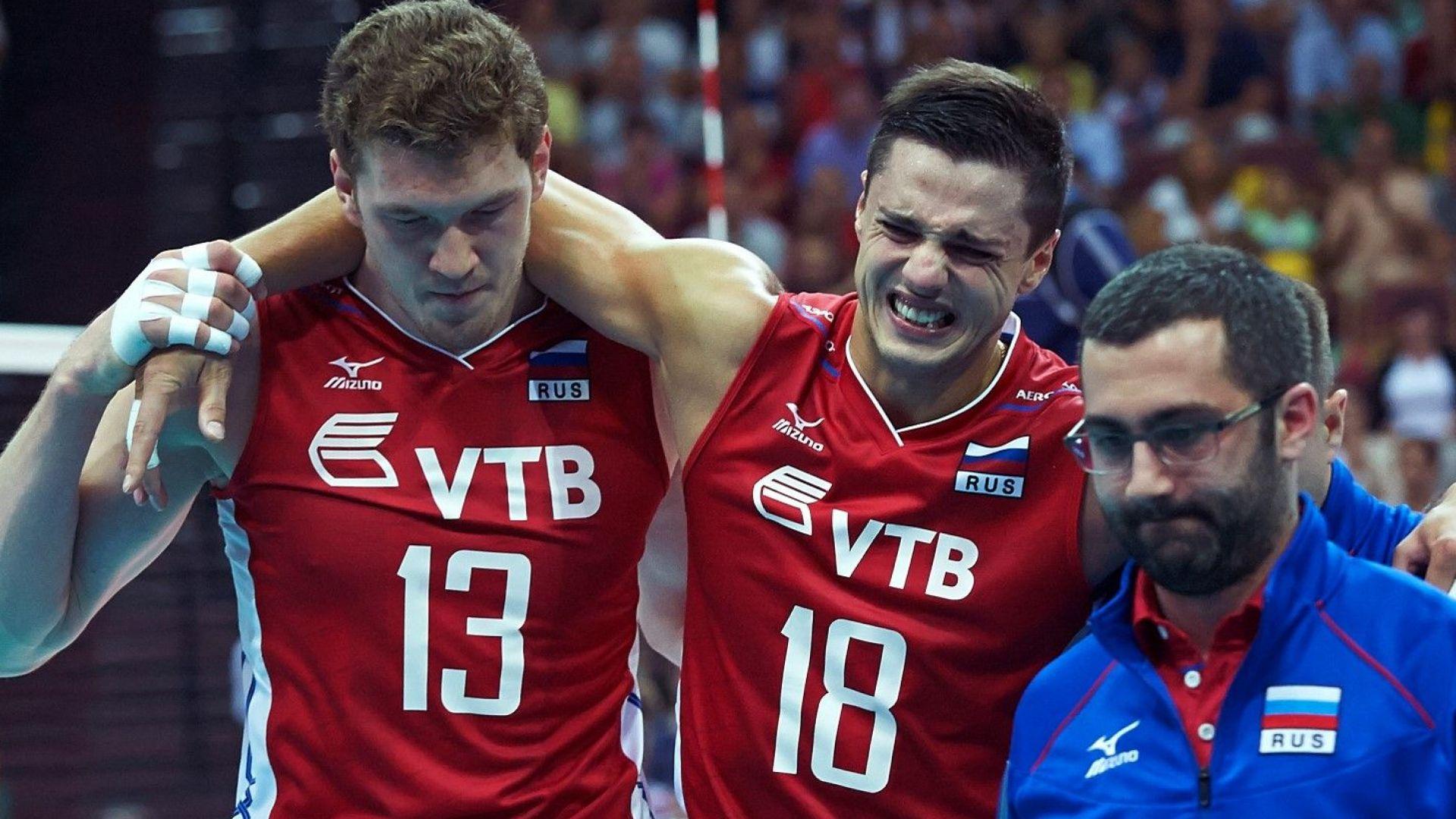 Часове след триумфа: Наказаха за допинг бивш волейболен национал на Русия