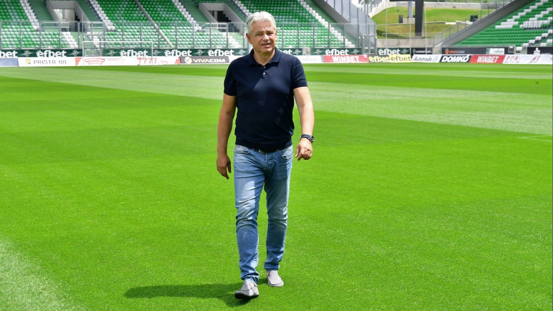 Лудогорец уволни Стойчо Стоев минути след ремито срещу Славия