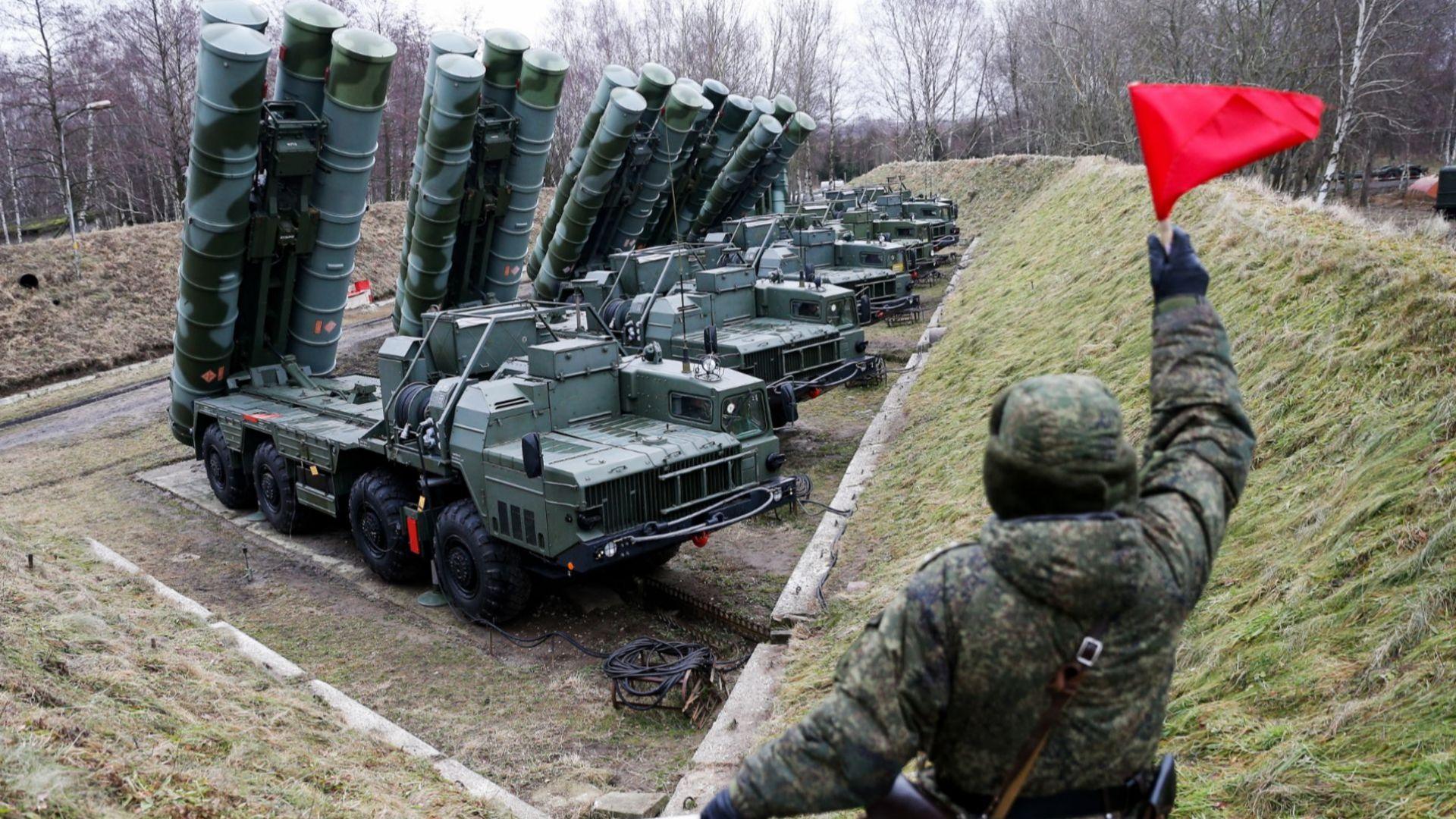Появи се видео от тестовете на руското ПВО С-400 в Турция
