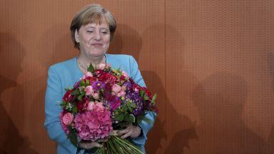Путин: Скъпа Ангела, честит рожден ден! (снимки)