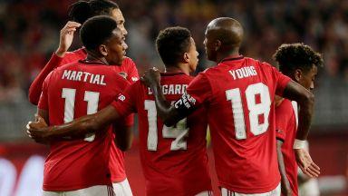 Юнайтед унижи кръвен враг в контрола