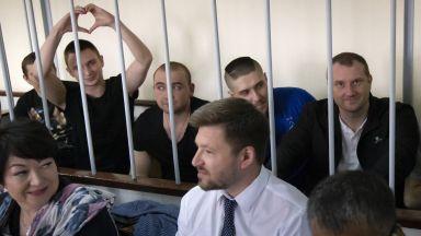 Руски съд удължи с още 3 месеца ареста на 24-имата украински моряци