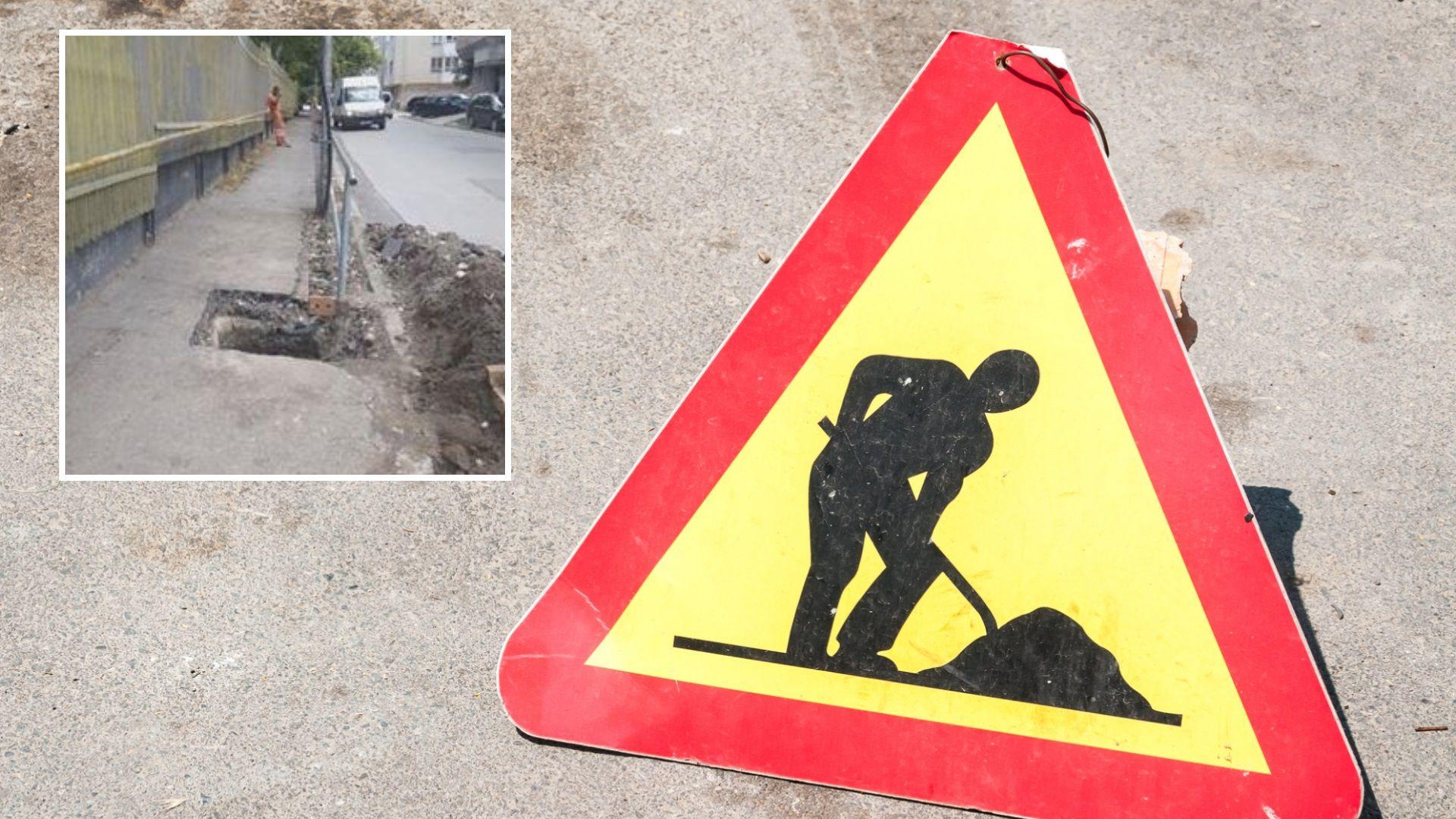 Две незрящи жени пропаднаха в дупка на тротоар във Варна