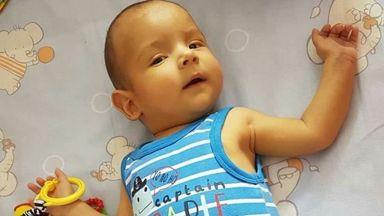 Добри българи събраха над половин милион за болно бебе за втори път в рамките на месец