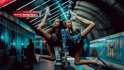 Великолепни балерини опитомяват улиците на Далас