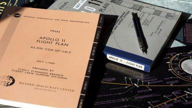 "Продадоха летателния план на ""Аполо 11"""
