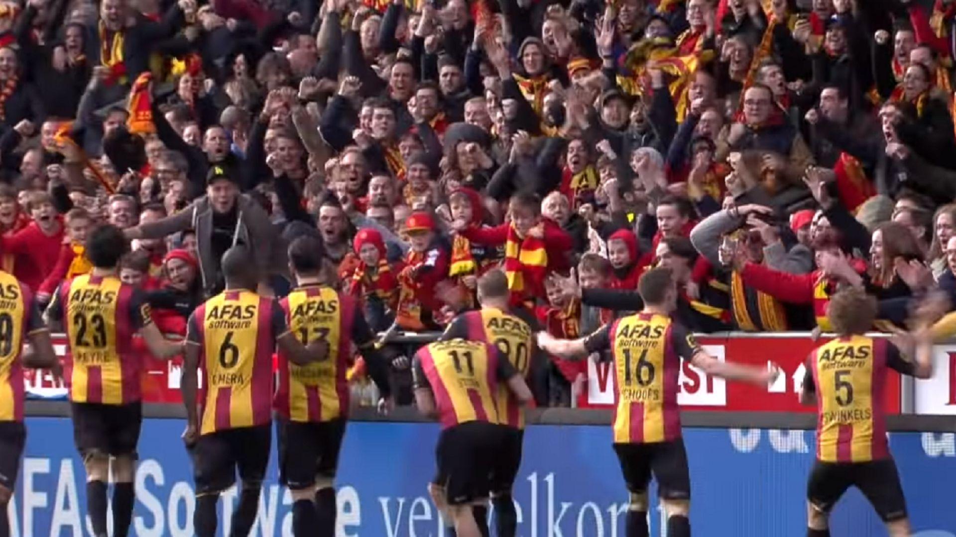 Белгийци изхвърчаха от Европа заради уредени мачове