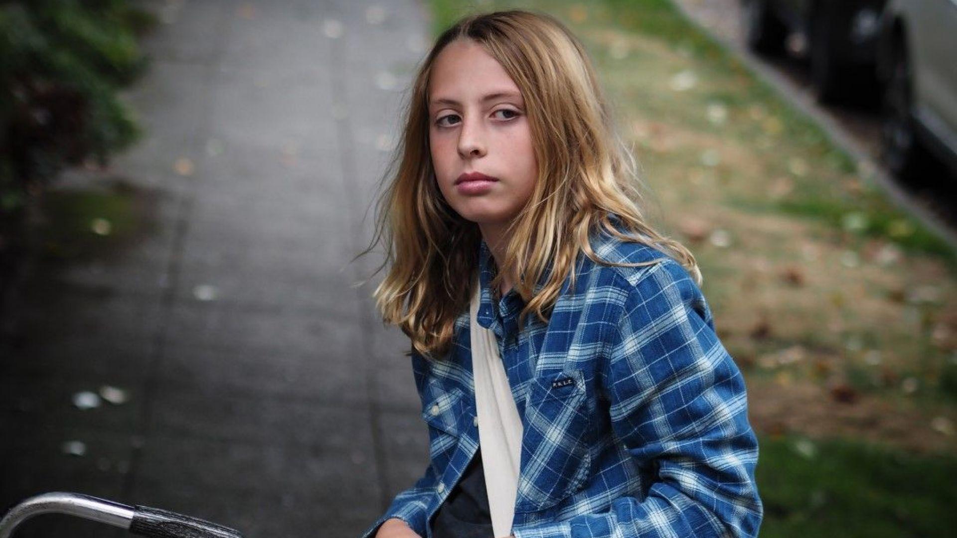 """Синът на Крис Корнел - Кристофър, който играе младия Крис в клипа на """"When Bad Does Good"""""""