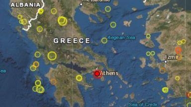 5,2 по Рихтер удари Атина