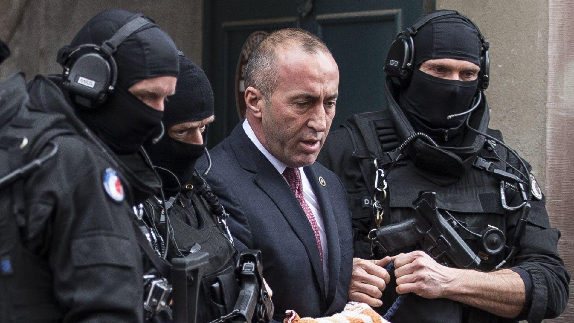 Косовският премиер в оставка на изслушване в Спецсъда в Хага
