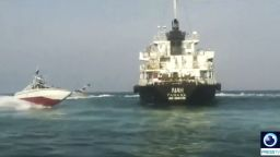 Иранският корпус на гвардейците конфискува британски танкер
