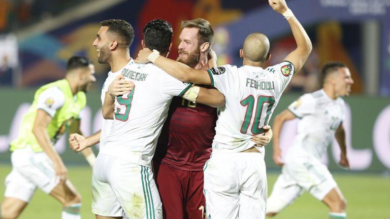 Куриозен ранен гол възкачи Алжир на трона