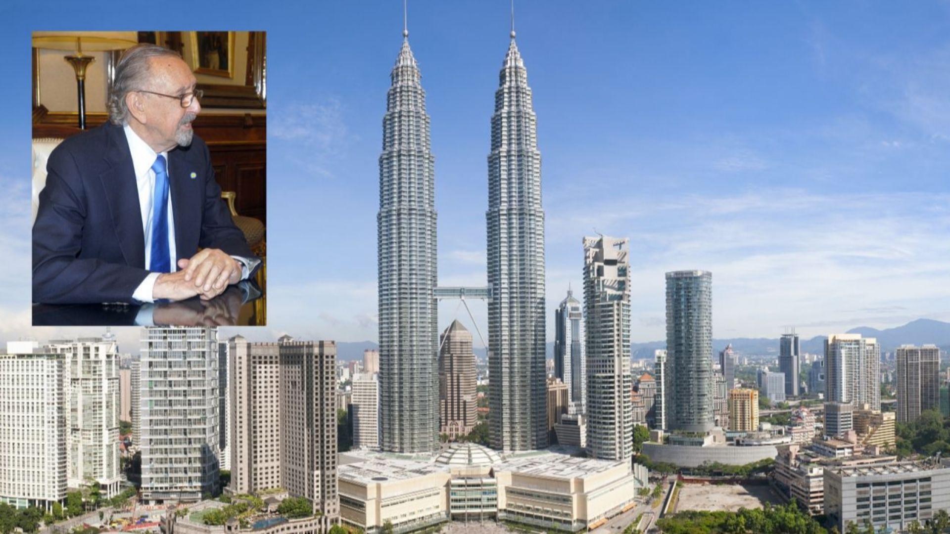 Почина архитектът на едни от най-високите сгради в света