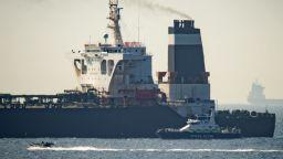 Силен натиск срещу Иран да освобоби UK танкера