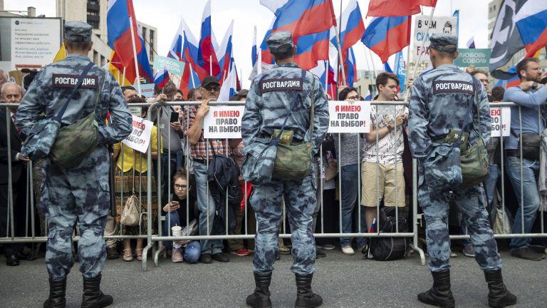 20 хил. души на протест в Москва за свободни и справедливи местни избори