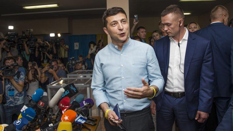 Зеленски: Няма да правя коалиция с хора от старата власт, искам само нови лица