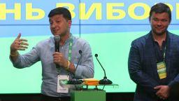 Комик и музикант в коалиция ще управляват Украйна