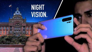 С Huawei P30 Pro и Honor View 20 може буквално да виждате в тъмното