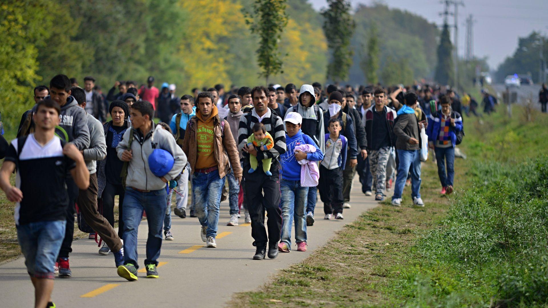 Словения праща войници срещу мигрантите