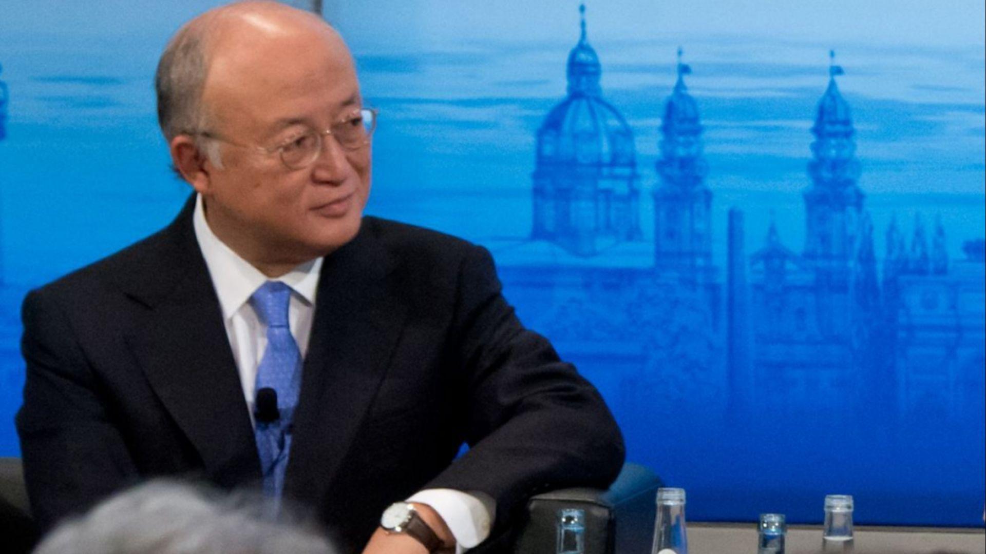 Почина шефът на Международната агенция за атомна енергия