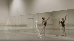 Японски екип изследва кадър по кадър движенията на балерина