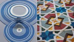 Вижте красиви мозайки от хартия