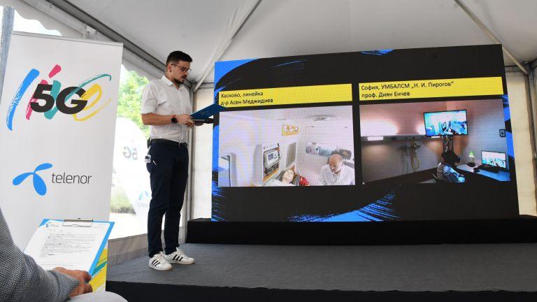 Теленор започва своите 5G тестове в България