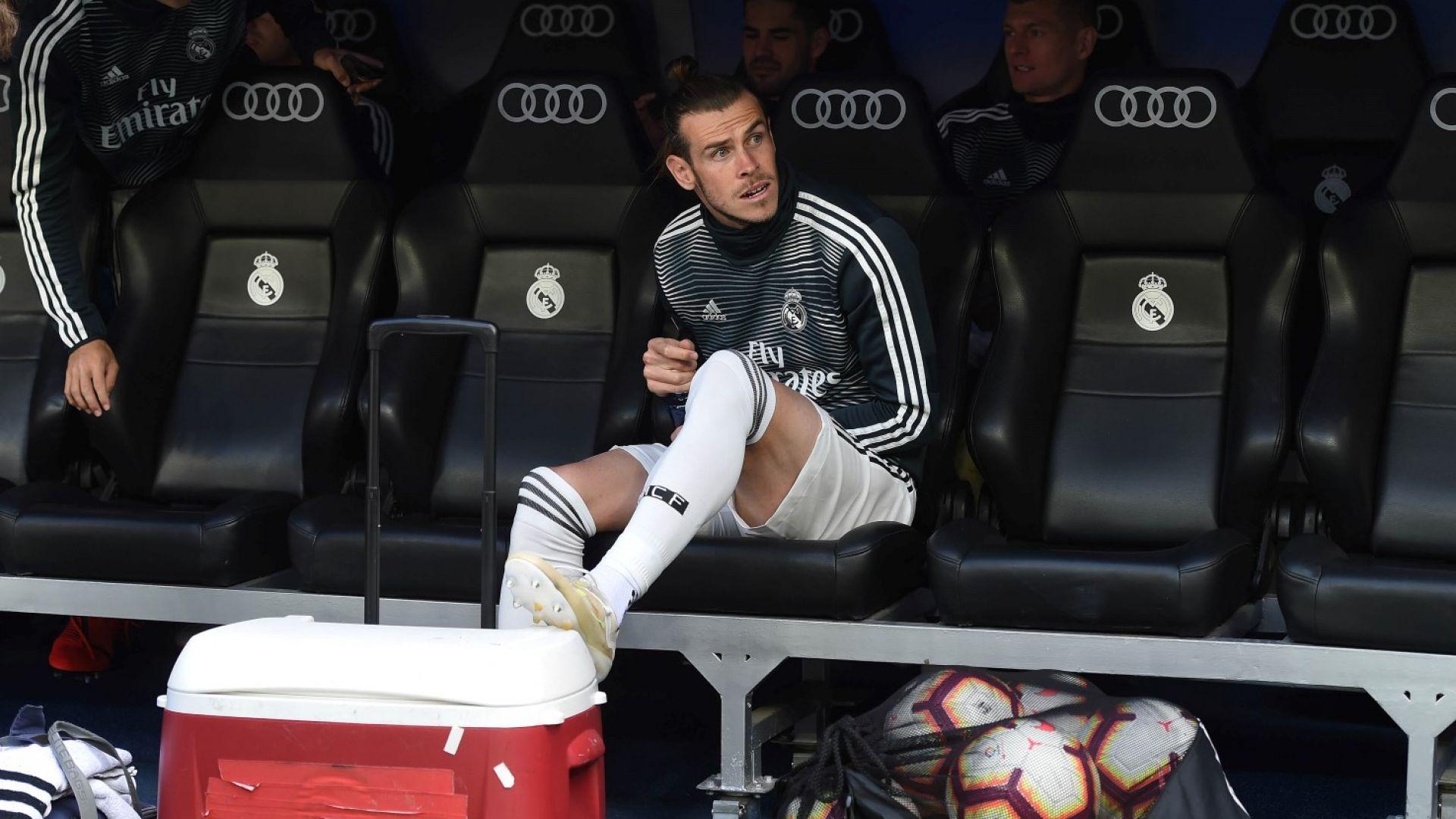 Бейл разпускал на голф игрището докато Реал пада от Тотнъм