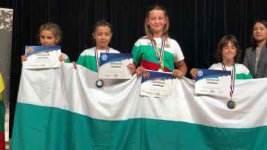 4 диамантени медала за българчета на Световното по математика в Япония